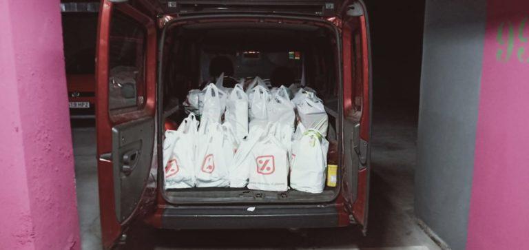 Bolsas en el coche